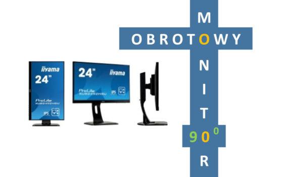 pivot monitor obrotowy ekran obracany linkart commpol